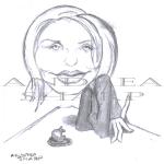 Caricature, Cameron Diaz - Pencil