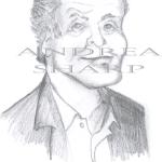 Caricature, Jack Nicholson - Pencil