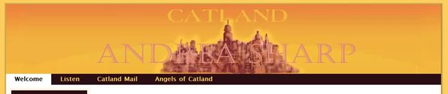 Catland  - Web Site Banner (Photoshop)