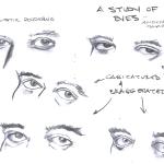 Studio Lessons, Eyes - Pencil