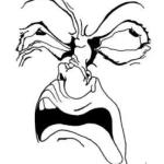 Cartoon, Exaggerated Attitude - Pencil and Ink