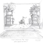 Cartoon Sketch - Pencil